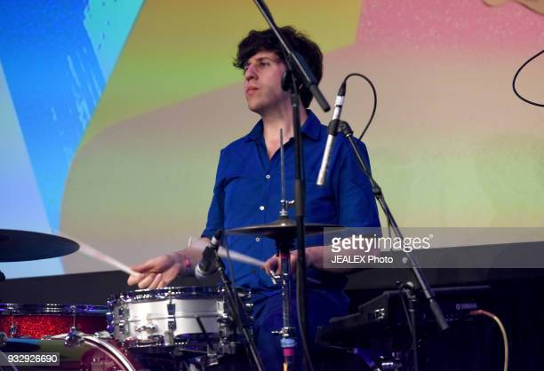 Eric Slick performs at Radio Day Stage during SXSW at Radio Day Stage on March 16 2018 in Austin Texas