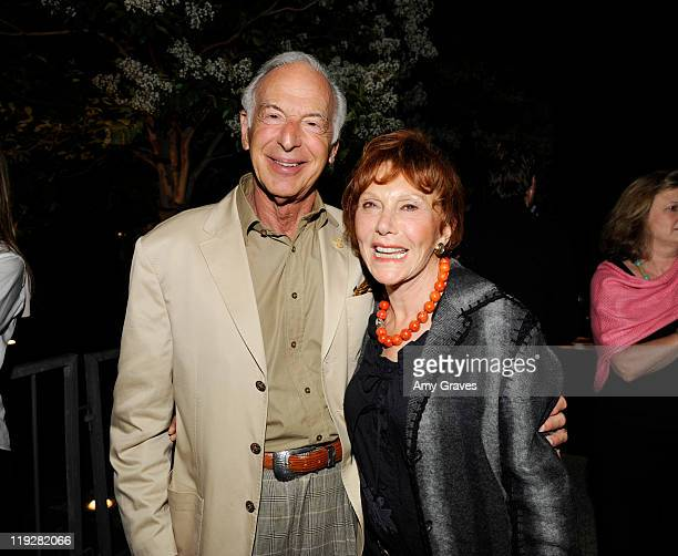Eric Small and Gloria Kaufman attend the US Premiere of The Expert At The Card Table With Director Neil Patrick Harris at The Broad Stage on July 15...