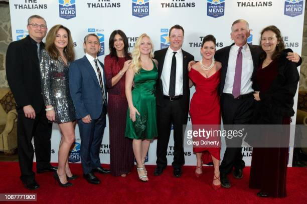 Eric Sornborger Dr Jo Sornborger Todd Katz Dana Katz Michelle Asker Jospeh Paulk Kira Reed Lorsch Tom Strauss and Lori Zuckerman attend The Thalians...