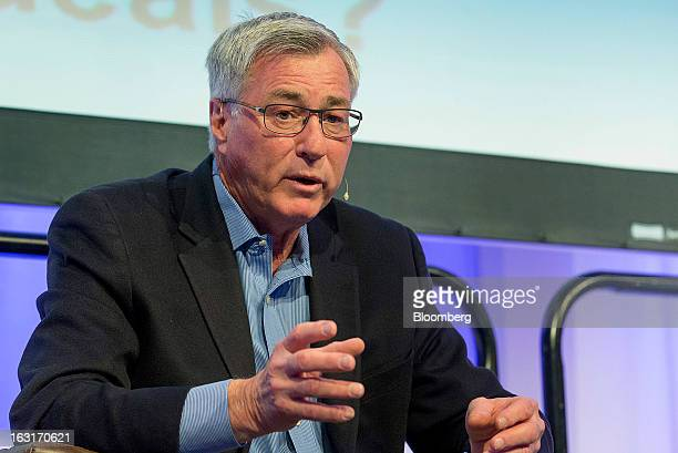 Eric Sprott, chief executive officer of Sprott Asset Management LP, speaks during a panel discussion at the Prospectors and Developers Association of...