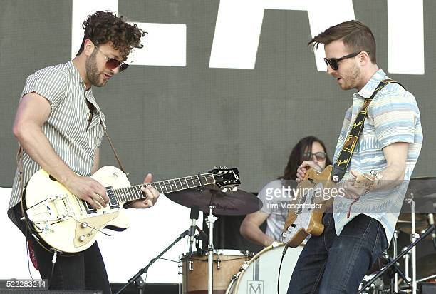 Eric Steedly and Brian Lancaster of Lanco perform during the Tortuga Music Festival on April 17 2016 in Fort Lauderdale Florida