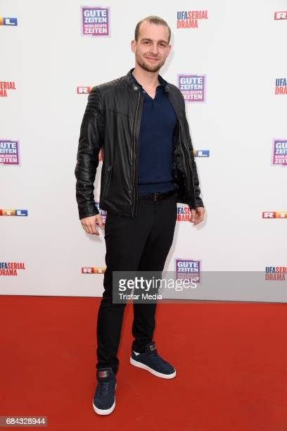 Eric Stehfest attends the 25th anniversary party of the TV show 'GZSZ' on May 17, 2017 in Berlin, Germany.