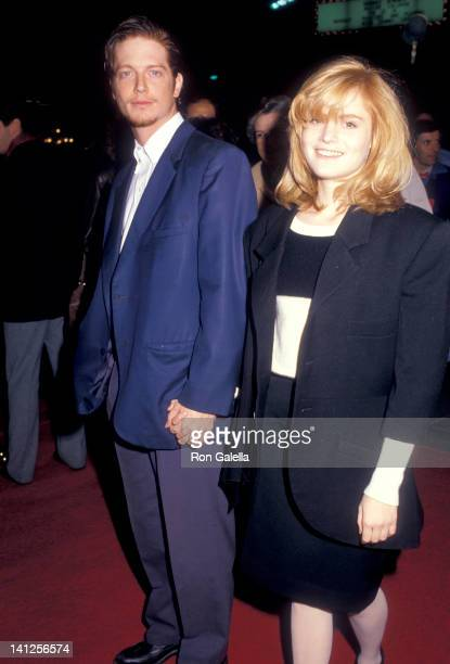 Eric Stoltz and Jennifer Jason Leigh at the Premiere of 'Some Kind of Wonderful', Mann's Chinese Theatre, Hollywood.