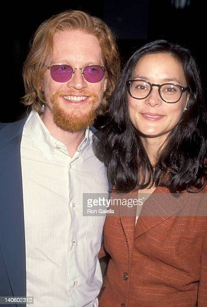 Eric Stoltz and Meg Tilly at the Premiere of 'Sleep with Me', Pacific Design Center, West Hollywood.