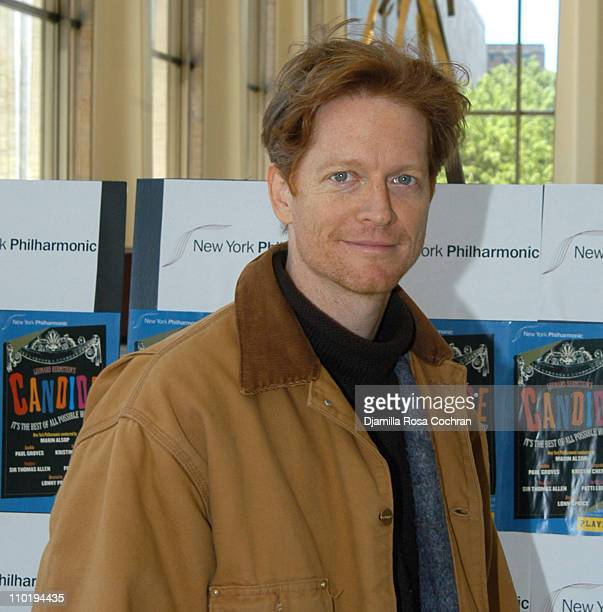 Eric Stoltz during Kristin Chenoweth and Patti Lupone Perform in New York Philharmonic's Candide Dress Rehearsal at Avery Fisher Hall in New York...