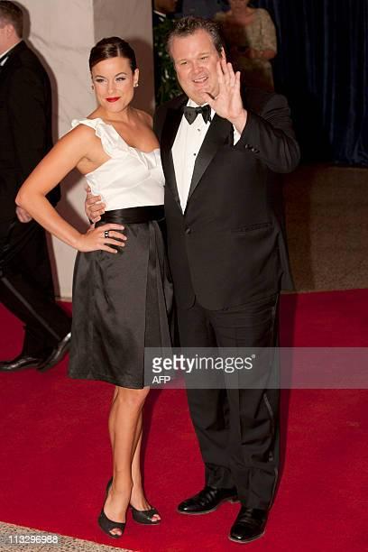 Eric Stonestreet and his wife Katherine Tokarz arrive for the annual White House Correspondents Association dinner April 30 2011 at the Washington...
