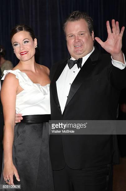 Eric Stonestreet and wife Katherine Tokarz attending the White House Correspondents' Association dinner at the Washington Hilton Hotel in Washington...