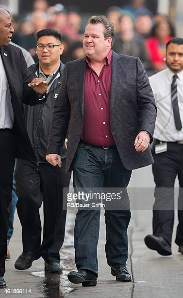 Eric Stonestreet is seen at 'Jimmy Kimmel Live' on January 20 2015 in Los Angeles California