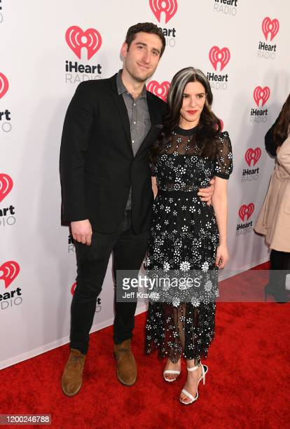 Eric Sullivan and Jennifer Goldstein attend the 2020 iHeartRadio Podcast Awards at the iHeartRadio Theater on January 17 2020 in Burbank California