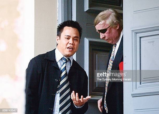 Eric Tam from Abbotsbury who is charged with supplying ecstacy at the Greenwood Hotel on August 7 2005 The arrest is part of a controlled operation...