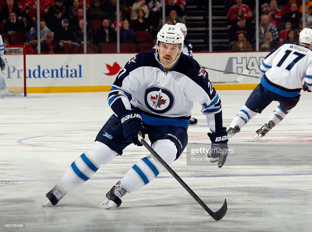 Winnipeg Jets v New Jersey Devils : News Photo