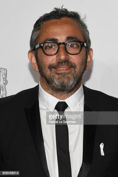Eric Toledano arrives at the Cesar Film Awards 2018 at Salle Pleyel on March 2 2018 in Paris France