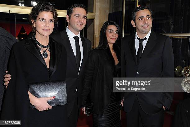Eric Toledano Olivier Nakache and guests attend the 37th Cesar Film Awards at Theatre du Chatelet on February 24 2012 in Paris France