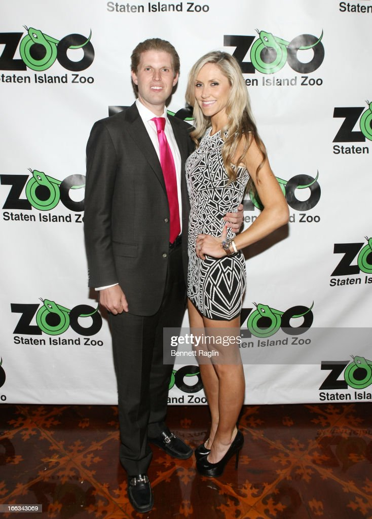 Eric Trump and Lara Yunaska attend the 2013 Staten Island Zoological Society Ball at Richmond Country Club on April 11, 2013 in the Staten Island burough of New York City.