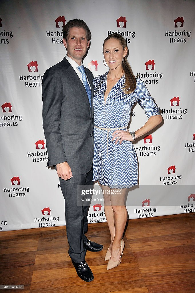 Eric Trump and Lara Yunaska attends Harboring Hearts' 2nd annual Summer Soiree at Rubin Museum of Art on June 23, 2014 in New York City.