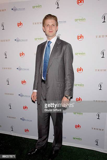Eric Trump arrives at 2009 Miss USA Pageant Red Carpet Arrivals at Planet Hollywood Resort Casino on April 19 2009 in Las Vegas Nevada