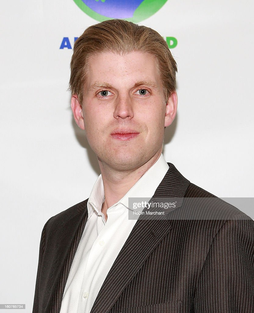 Eric Trump attends Animal AID One Year Anniversary Celebration at Thomson Hotel LES on February 5, 2013 in New York City.