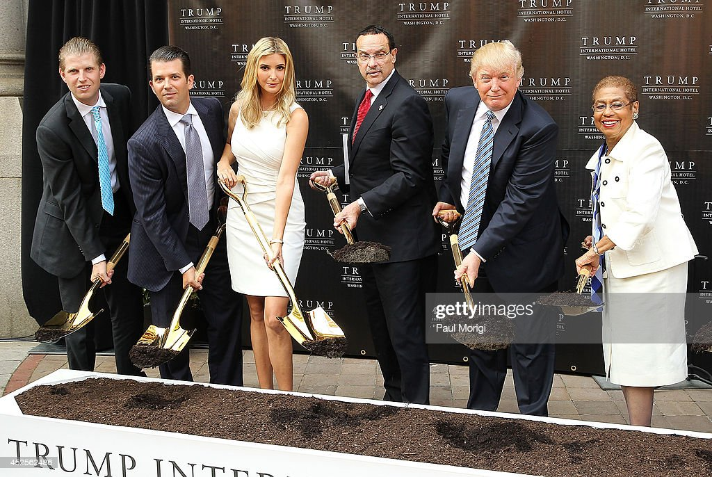 Trump International Hotel Washington, D.C Groundbreaking Ceremony