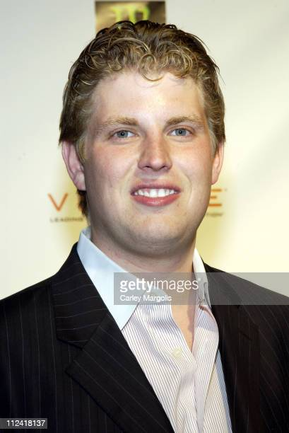 Eric Trump during 5th Annual Tribeca Film Festival Ivana Young Man Premiere After Party Premiere Film Music Lounge at PM Night Club at PM Night Club...