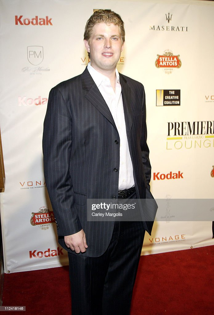 Eric Trump during 5th Annual Tribeca Film Festival - 'Ivana Young Man' Premiere - After Party - Premiere Film & Music Lounge at PM Night Club at PM Night Club in New York City, New York, United States.