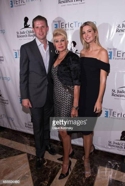 Eric Trump Ivana Trump and Ivanka Trump attend The Eric Trump 8th Annual Golf Tournament at Trump National Golf Club Westchester on September 15 2014...