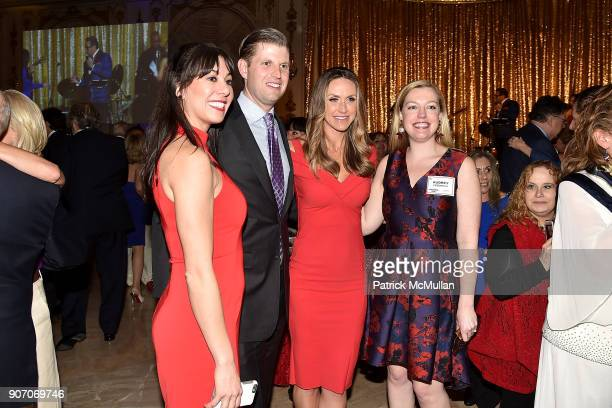 Eric Trump Lara Trump and Audrey Friedrich attend President Trump's one year anniversary with over 800 guests at the winter White House at MaraLago...