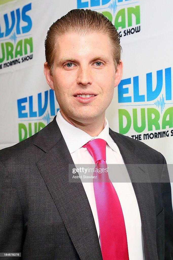 "Eric Trump Visits ""The Elvis Duran Z100 Morning Show"" : News Photo"