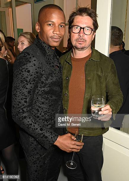 Eric Underwood and Oliver Spencer attend the launch of the Esquire Townhouse with Dior on October 12 2016 in London England