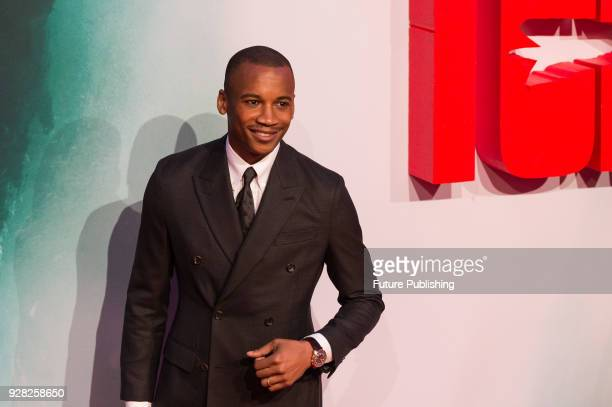 Eric Underwood arrives for the European film premiere of 'Tomb Raider' at Vue West End cinema in London's Leicester Square March 6 2018 in London...