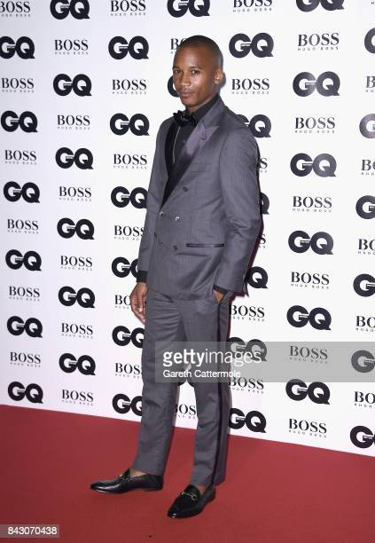 Eric Underwood attends the GQ Men Of The Year Awards at the Tate Modern on September 5 2017 in London England