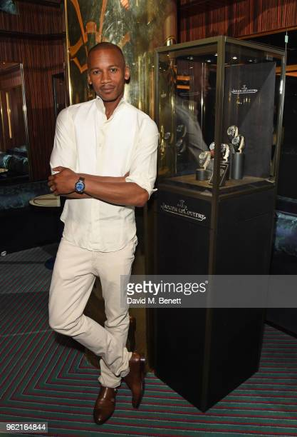 Eric Underwood attends the launch of the JaegerLeCoultre Polaris collection at Isabel's Mayfair on May 24 2018 in London England