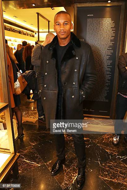 Eric Underwood attends the Moncler RCA 'Freeze For Frieze' cocktail reception at the Moncler Bond Street Boutique on October 7 2016 in London United...