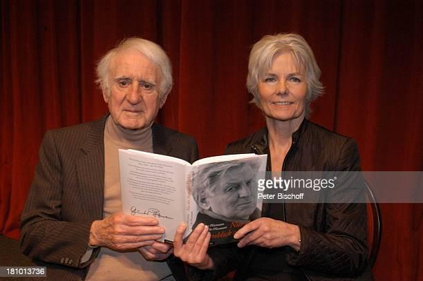 Eric Vaessen Lilo Pfitzmann Empfang zur BuchVorstellung Nur der Augenblick zählt von L i l o P f i t z m a n n über ihren verstorbenen Ehemann G ü n...