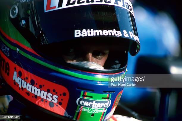 Eric van de Poele Grand Prix of France Circuit de Nevers MagnyCours 07 July 1991