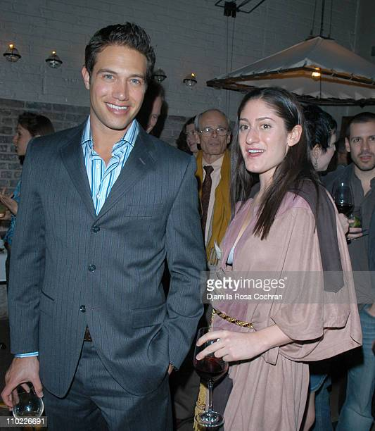 Eric Villency and Arden Wohl during Eric Villency Hosts the Stephen Petronio Benefit at Public in New York City, New York, United States.