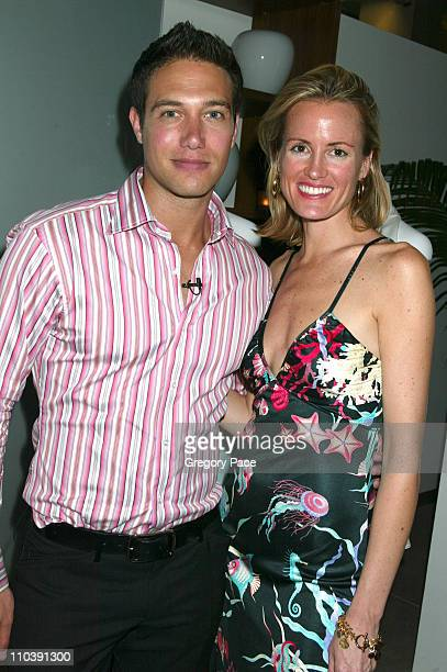 Eric Villency and Holly Dunlap, designer for the Hollywould clothing and shoe collection