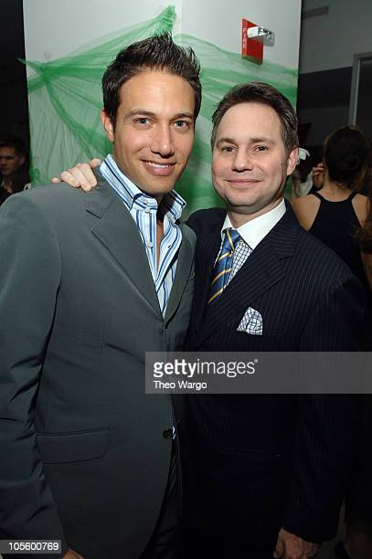 Eric Villency and Jason Binn during Sari Gueron Holiday Party and 2006 Collection at Maurice Villency in New York City, New York, United States.