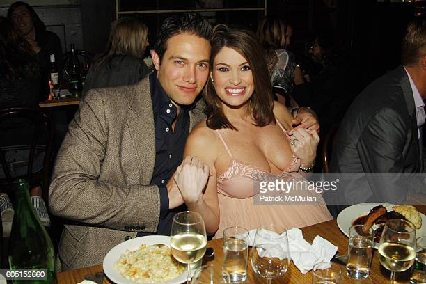 Eric Villency and Kimberly Guilfoyle attend Purple Fashion Magazine Dinner hosted by The Villency Emerging Fashion Fund at Freemans Restaurant on...