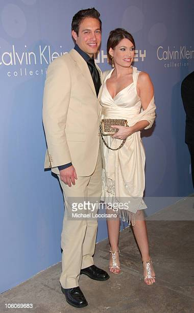 Eric Villency and Kimberly Guilfoyle during ART PARTY Hosted by The Whitney Contemporaries at Skylight Studis in New York City New York United States