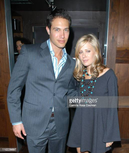 Eric Villency and Tara Subkoff during Eric Villency Hosts the Stephen Petronio Benefit at Public in New York City, New York, United States.