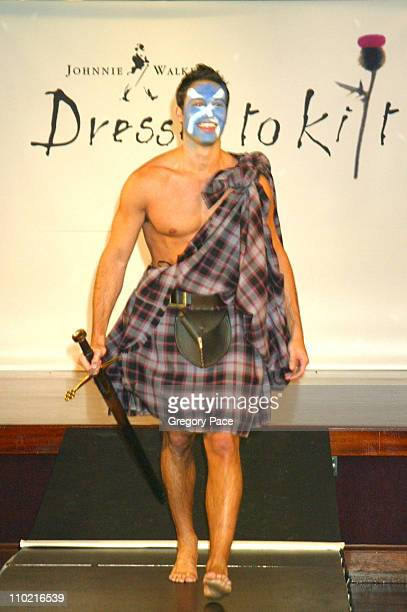 Eric Villency during Dressed to Kilt A Scottish Evening of Fashion and Fun Runway at Copacabana in New York City New York United States