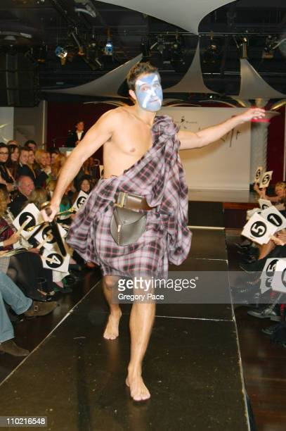 """Eric Villency during """"Dressed to Kilt"""" - A Scottish Evening of Fashion and Fun - Runway at Copacabana in New York City, New York, United States."""