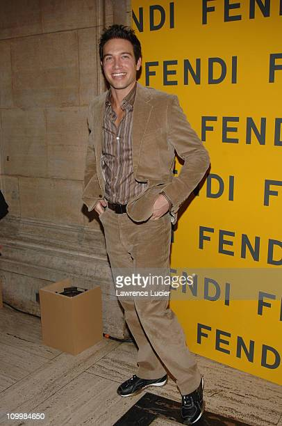 Eric Villency during Fendi 80th Anniversary All Hallow's Eve Party Hosted by Karl Lagerfeld at 25 Broadway in New York City, New York, United States.