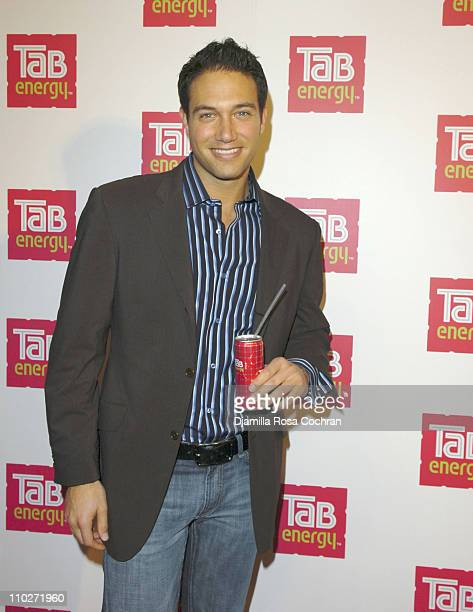 Eric Villency during Launch of TAB ENERGY- Arrivals at Drive-In Studios in New York, New York, United States.