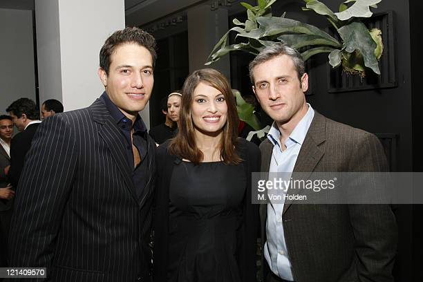 Eric Villency Kimberly Guilfoyle and Dan Abrams during The Launch of Carlos Mota for Villency Atelier Hosted by Eric Villency and Margaret Russell...