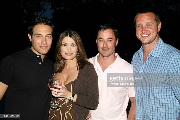 Eric Villency Kimberly Guilfoyle Kevin Wells and Mark Honecker attend Patrick McMullan Dave Zinczenko invite you to a Summer BBQ for Eric Kimberly...