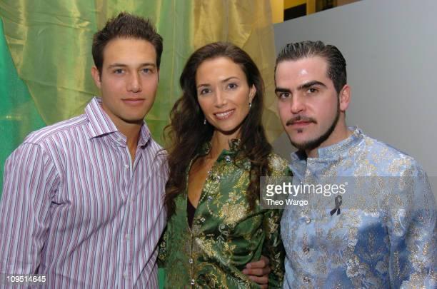 Eric Villency, Olivia Chantecaille and Sebastian Pons