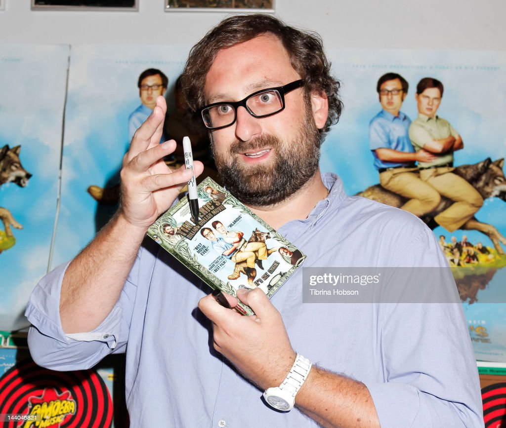 Eric Wareheim attends 'Tim and Eric's Billion Dollar Movie' blu-ray disc and DVD release party at Amoeba Music on May 8, 2012 in Hollywood, California.