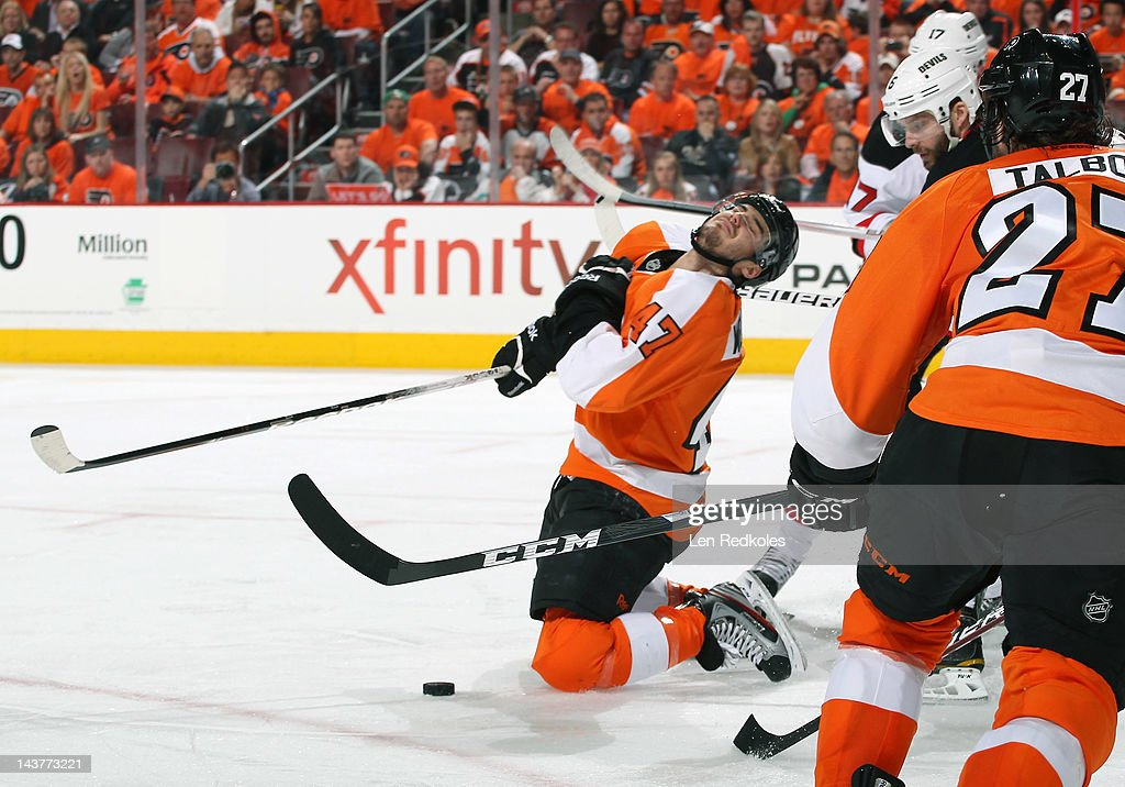 New Jersey Devils v Philadelphia Flyers - Game One
