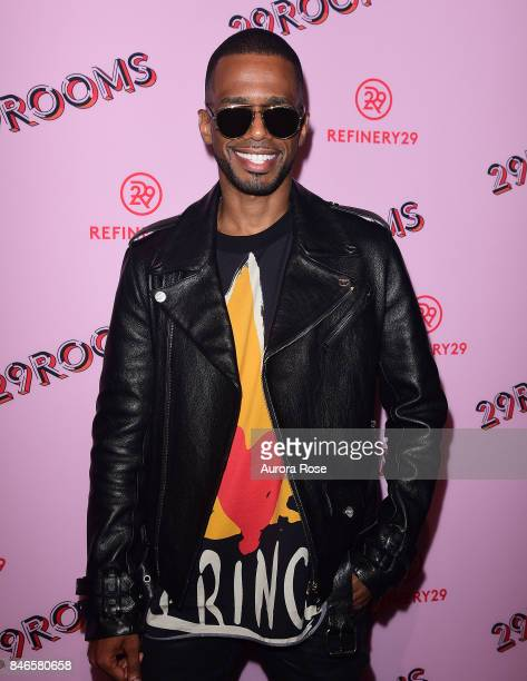 Eric West attends Refinery29's '29Rooms Turn It Into Art' at 106 Wythe Ave on September 7 2017 in New York City